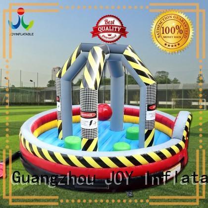 run Custom funny inflatable games mat JOY inflatable