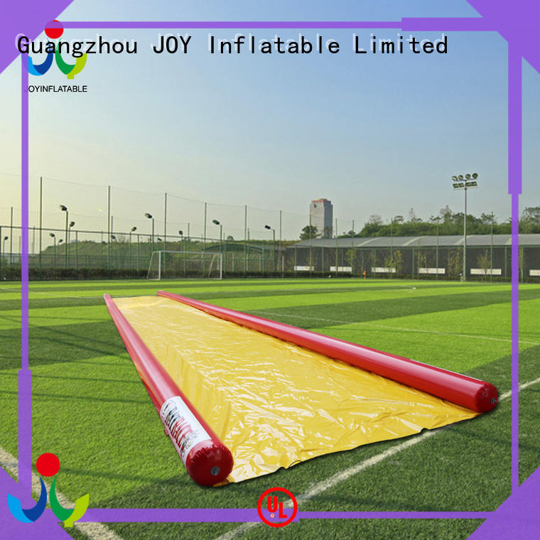 JOY inflatable durable blow up slip and slide customized for outdoor