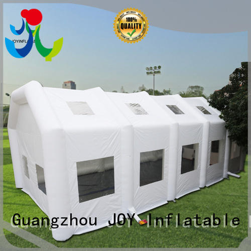 JOY inflatable Brand advertising green Inflatable cube tent manufacture