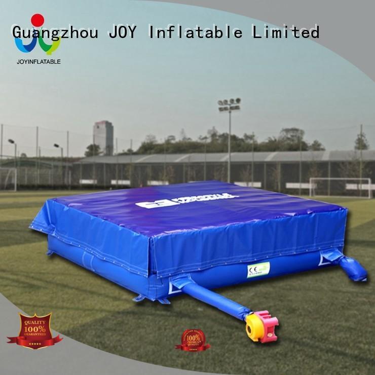JOY inflatable stunt mattress manufacturer for child