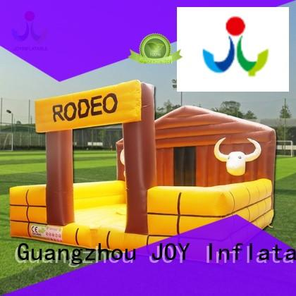 mechanical bull cost supplier for outdoor JOY inflatable