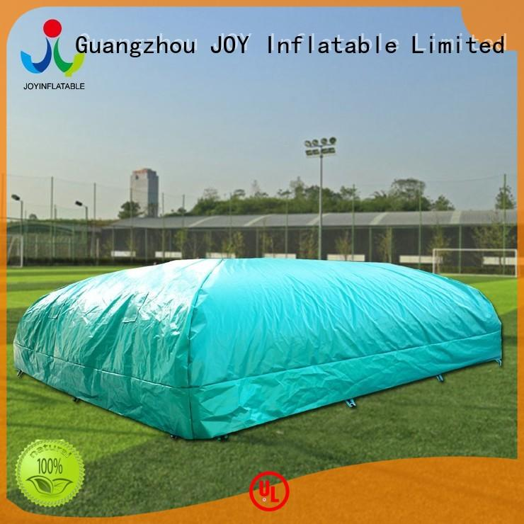 Custom stunts bag jump free JOY inflatable